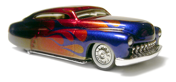 KB Kustoms Double Candy Flamed 49 Merc!