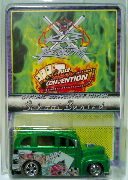 Officially licensed and exclusively made for the 2012 DiecastSpace Super Convention in Las Vegas.