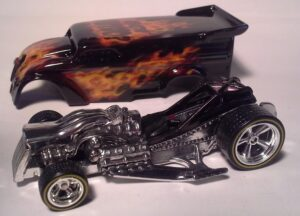 Got Nitro 1 0f 1 Real Fire Hot Wheels Drag Dairy by KB Kustoms