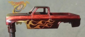 in process Candied and Flamed 83 Chevy Silverado