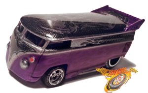 Purple Edition BadBat Drag Bus!  Multilayer Candy Purple Flames!  Only TWO made!
