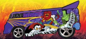 Happy Halloween from LB Customz and OKIE Logo! Groovie Goolies VW DRAG BUS EXCLUSIVELY available from Hot Toy Cars.com
