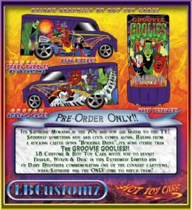 Happy Halloween from LB Customz and OKIE Logo! Groovie Goolies Dairy Delivery EXCLUSIVELY available from Hot Toy Cars.com